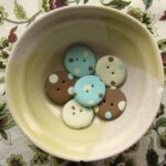 Beginner Button Class – Polka Dot Focal Buttons