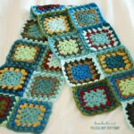 Flufy's Granny Square Blanket, part one