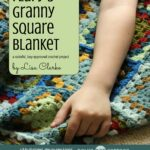 Flufy's Granny Square Blanket, tutorial and pattern @lclarke522