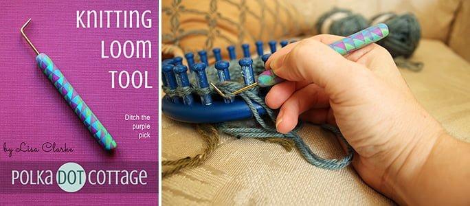 Loom Knitting Tool at Polka Dot Cottage