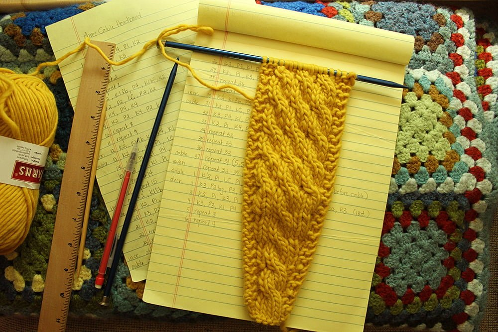 Earwarmer Trio knitting pattern at Polka Dot Cottage