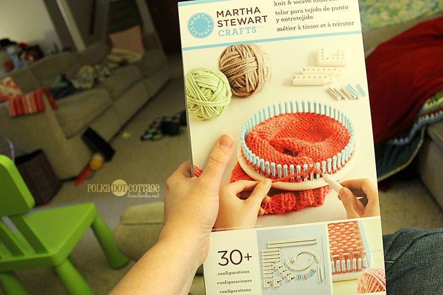 How To Translate A Needle Knit Pattern For A Loom Polka Dot Cottage