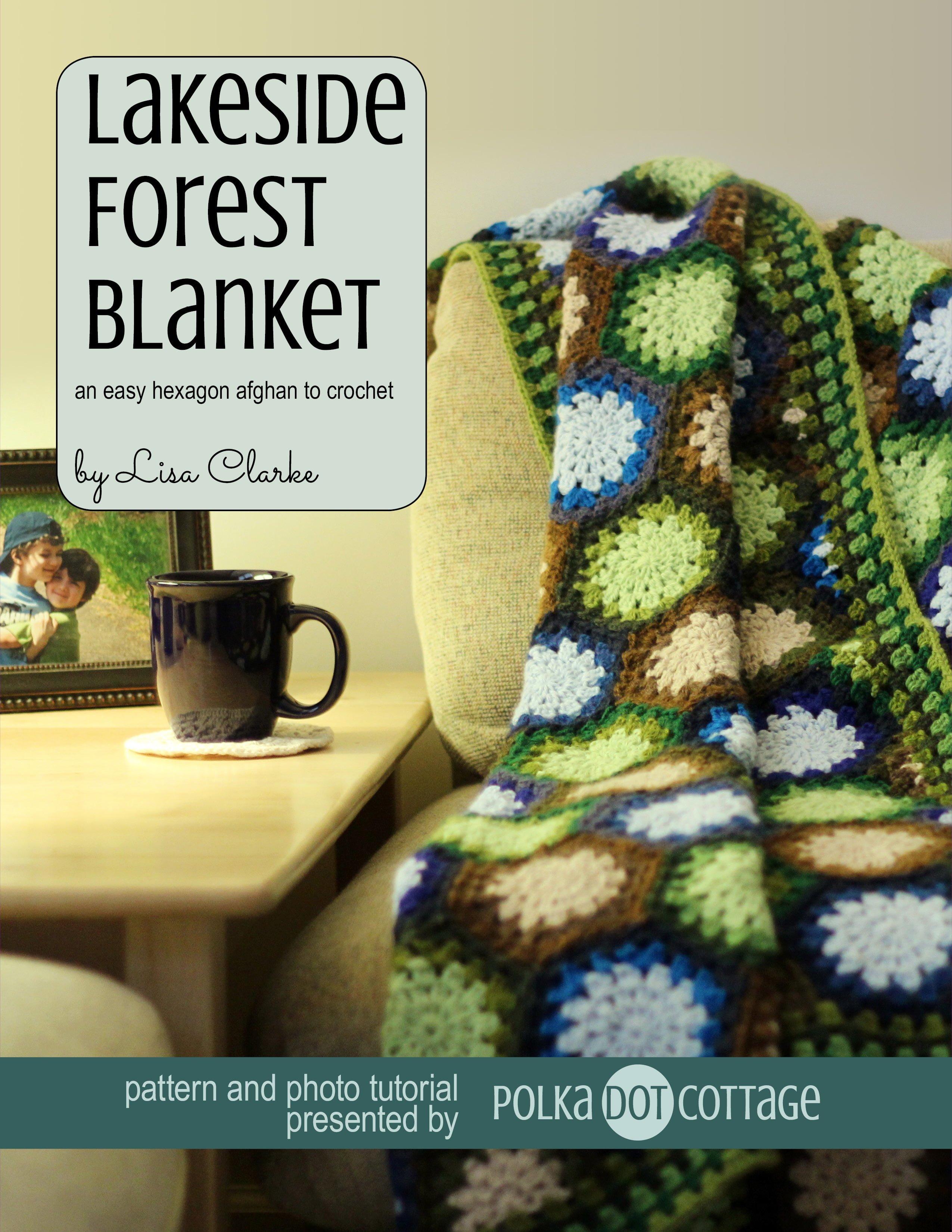 Lakeside Forest Blanket ⋆ Polka Dot Cottage