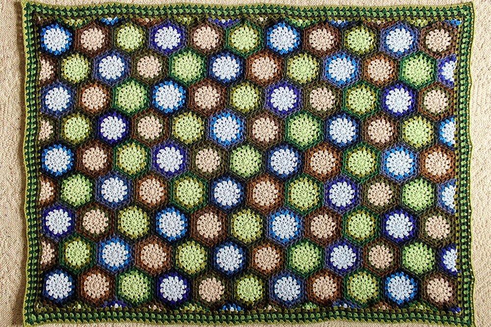 Lakeside Forest Blanket Polka Dot Cottage
