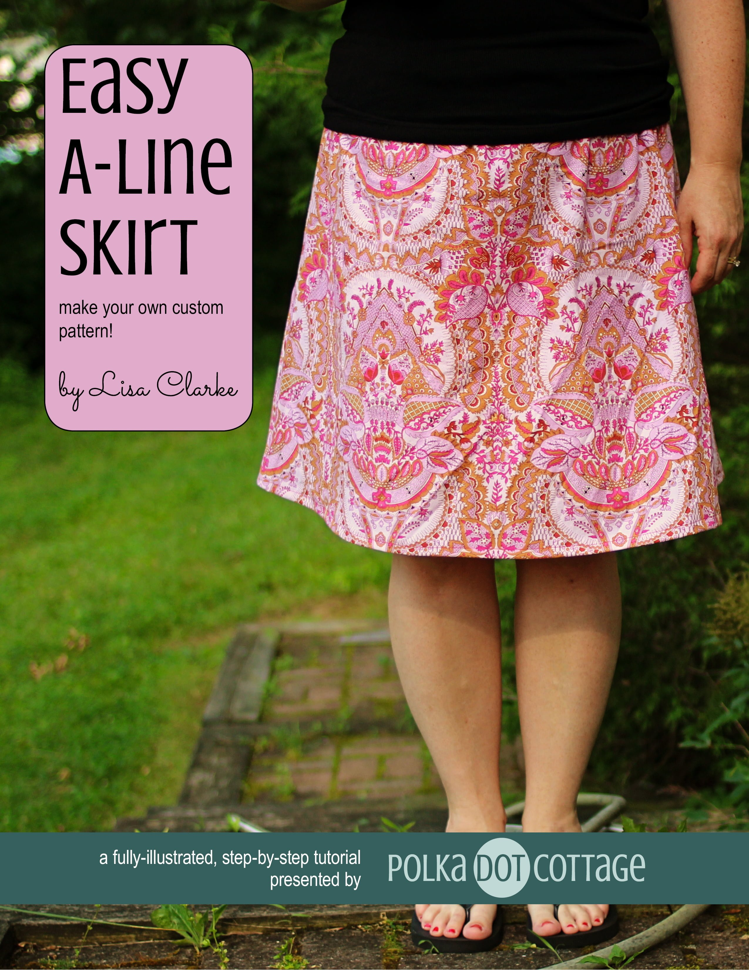 Aline Skirt Pattern 37