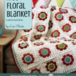 Mod Floral Blanket eBook: crochet pattern + photo tutorial by Lisa Clarke