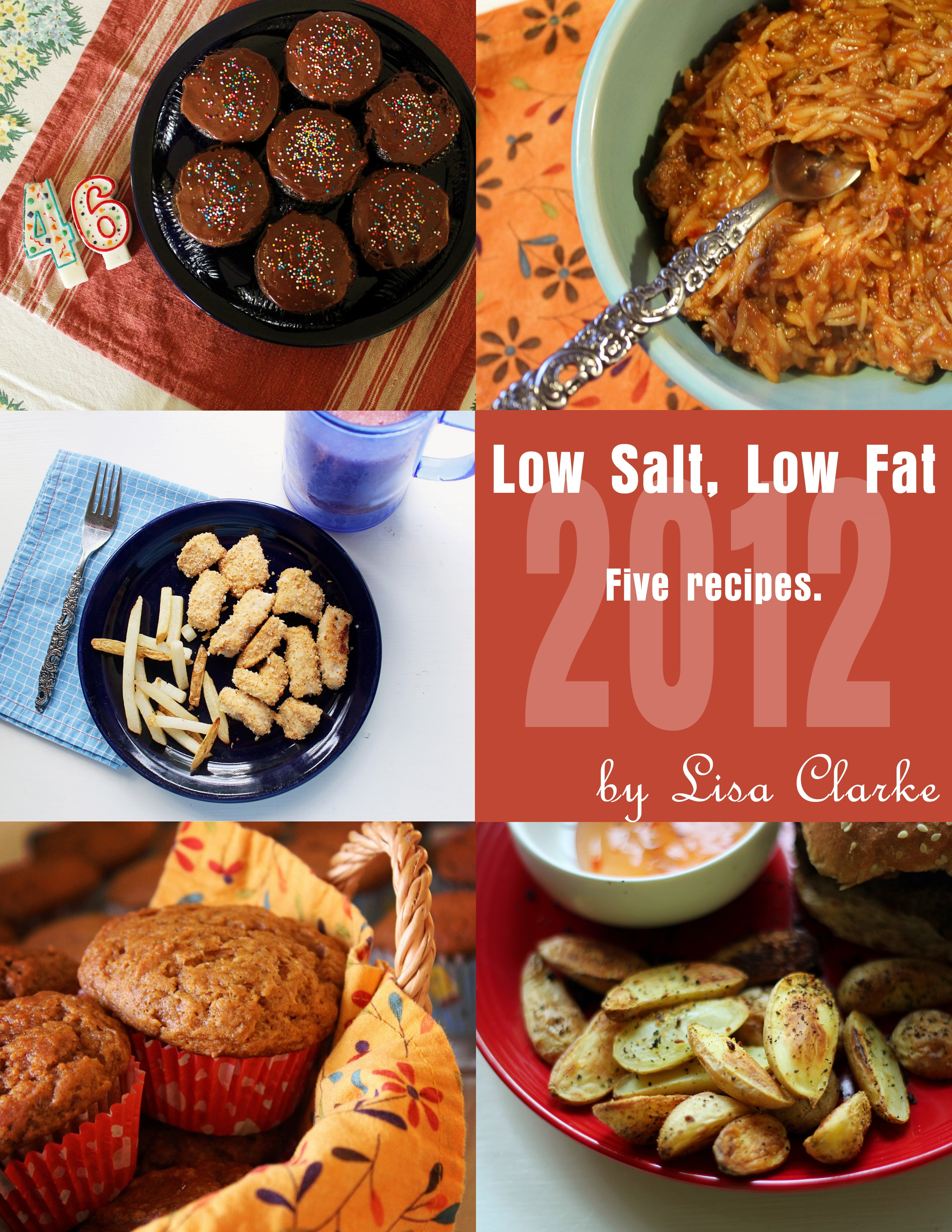 Five Low-Salt, Low-Fat Heart-Healthy recipes from Polka Dot Cottage