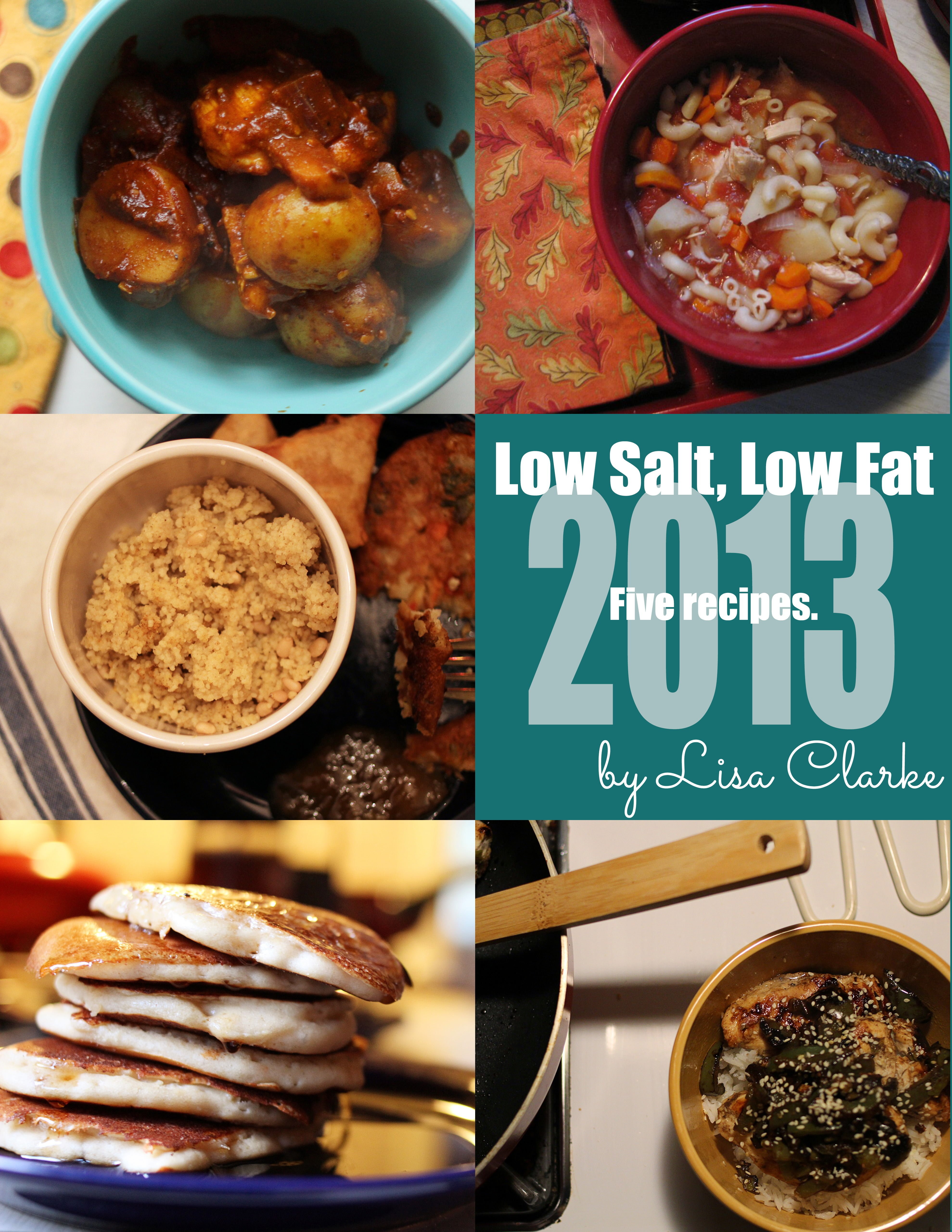 Five (more) Low-Salt, Low-Fat, Heart-Healthy recipes from Polka Dot Cottage