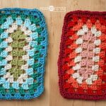 Granny Square Sampler Revisited, at Polka Dot Cottage