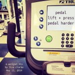 Pedal | Lift + Press | Pedal Harder, a playlist for your workout by Polka Dot Cottage