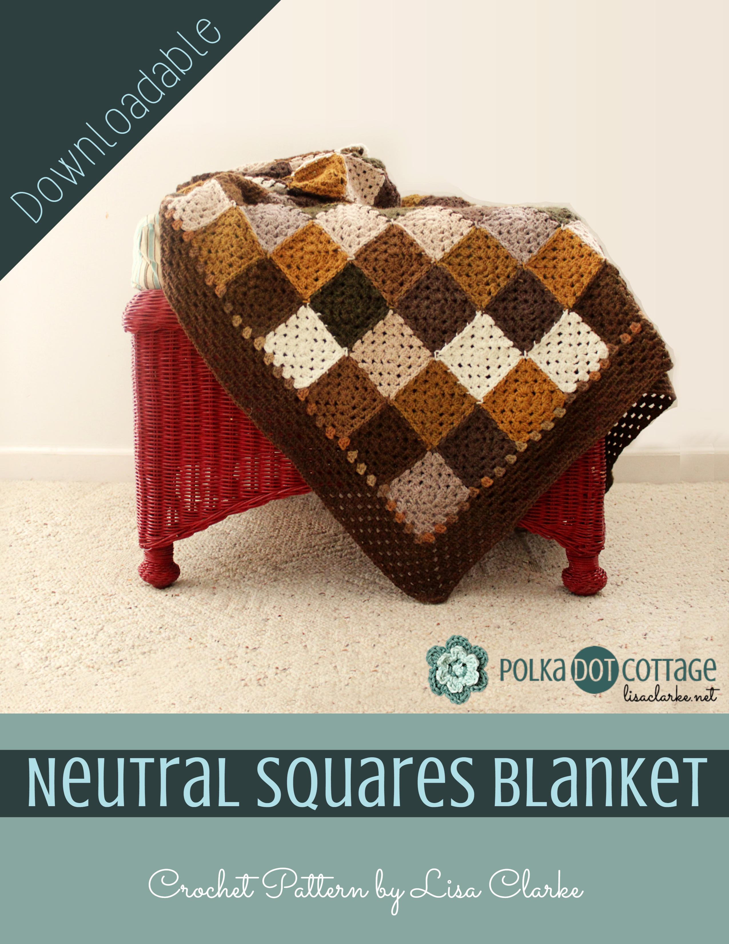 Neutral Squares Blanket Crochet Pattern Polka Dot Cottage,Smoked Prime Rib Roast Rub