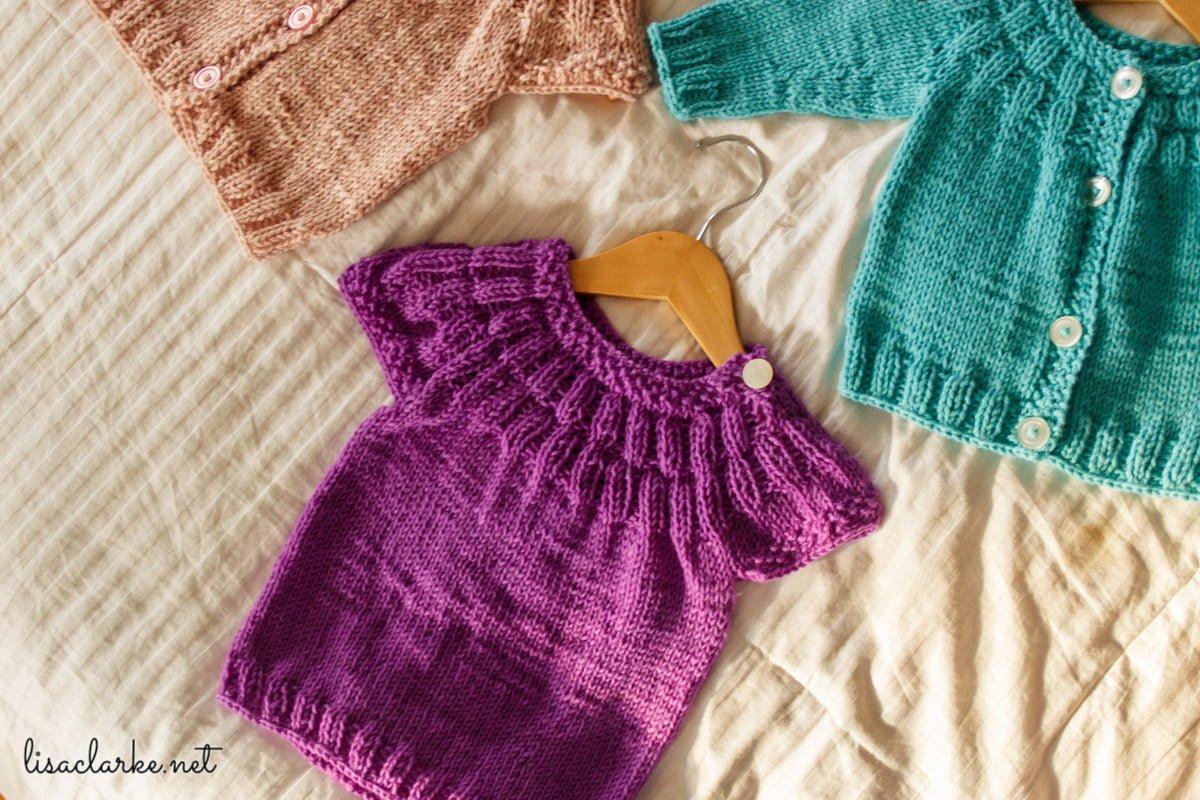 464c4612999e3 Everyday Baby Knitting Pattern ⋆ Polka Dot Cottage