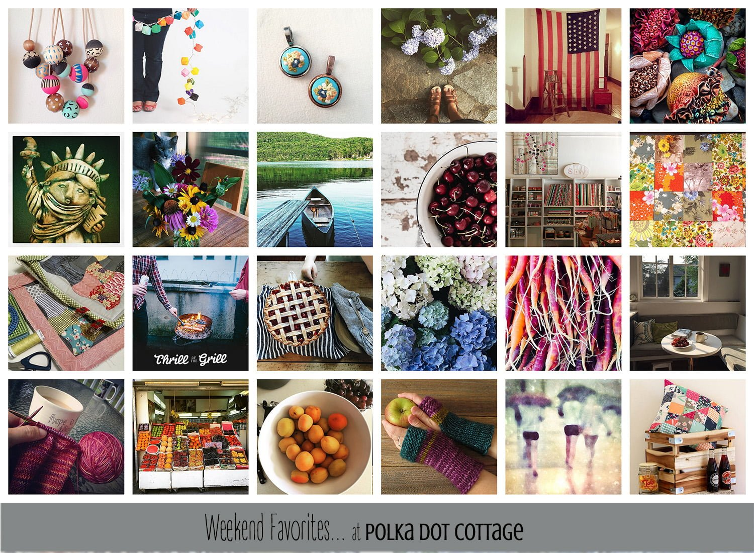 Weekend Favorites at Polka Dot Cottage