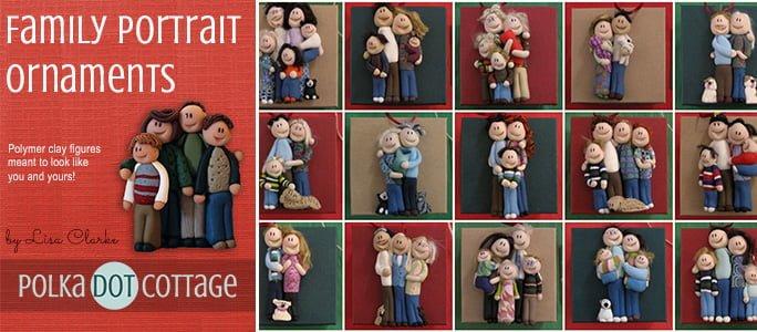Family Portrait Ornaments