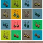 Colorful Handcrafted Earrings