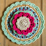 Crocheted table toppers