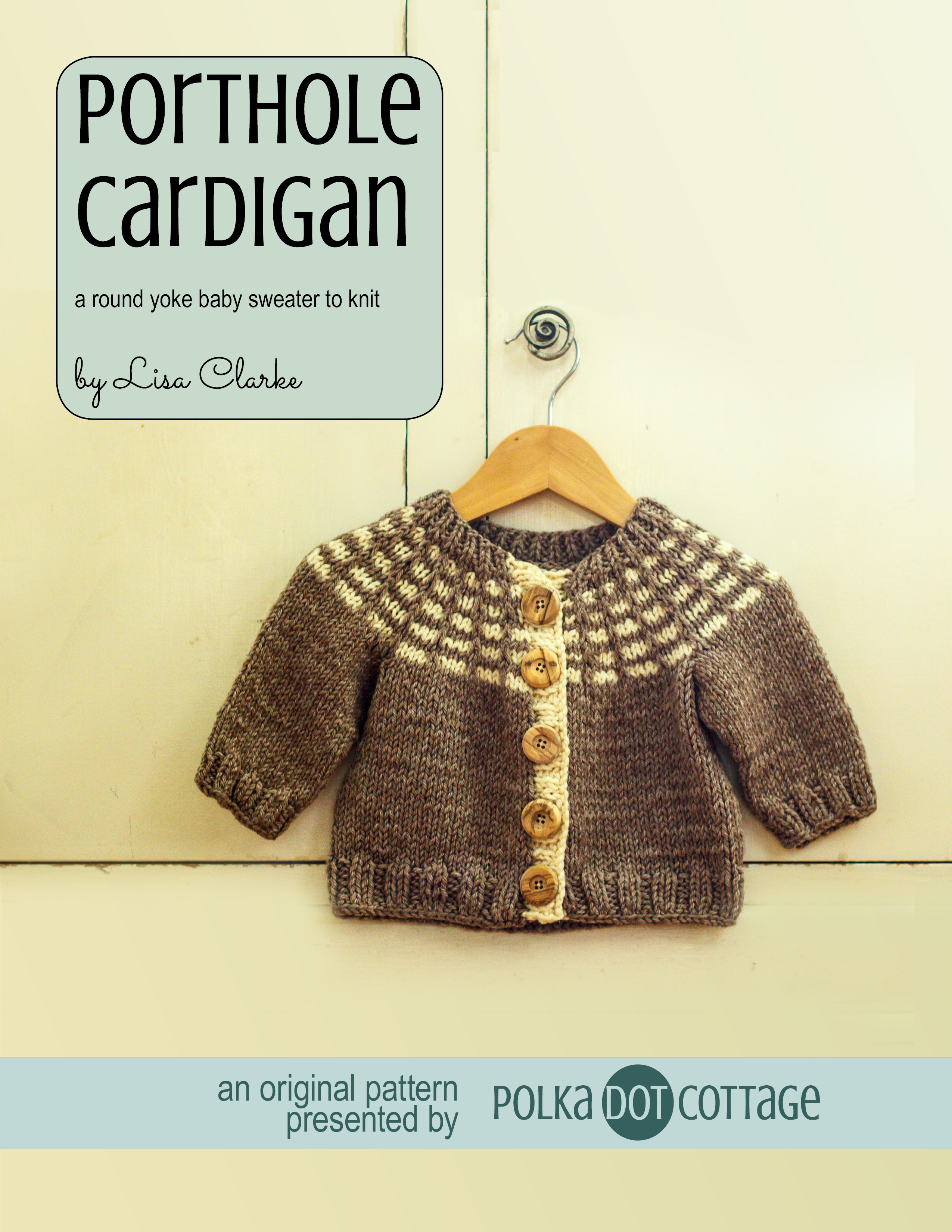 Porthole Cardigan ⋆ Polka Dot Cottage