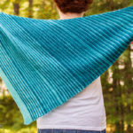 Vertical Hold Wrap knitting pattern at Polka Dot Cottage