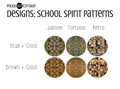 Polka Dot Cottage Designs: School Spirit Patterns