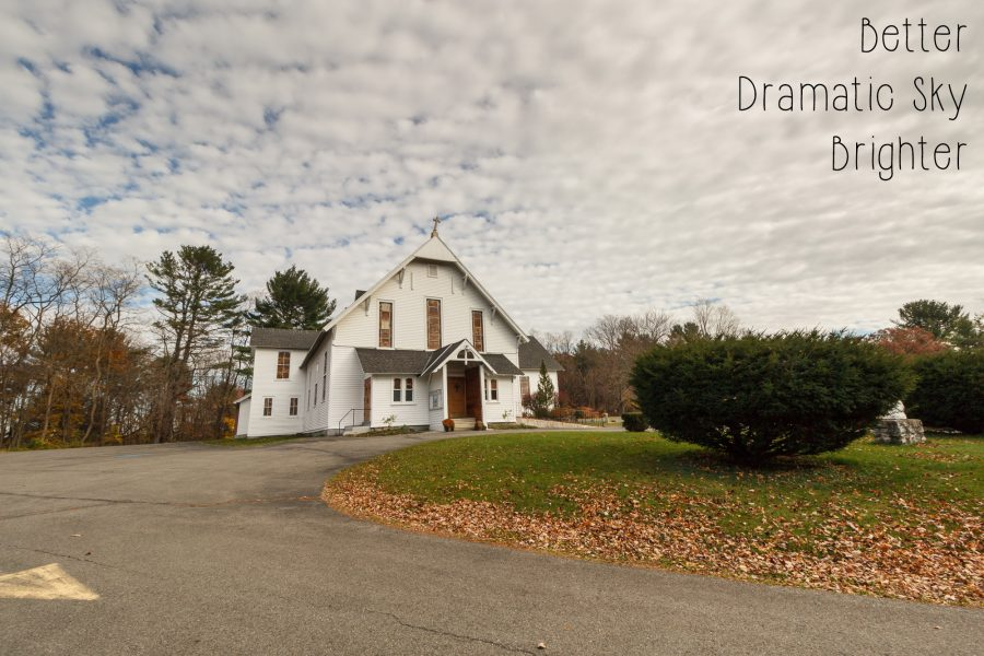Photoshop Actions and Lightroom Presets: Cairo NY Church - Brighter