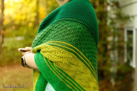Taryn Shawl Knitting Pattern