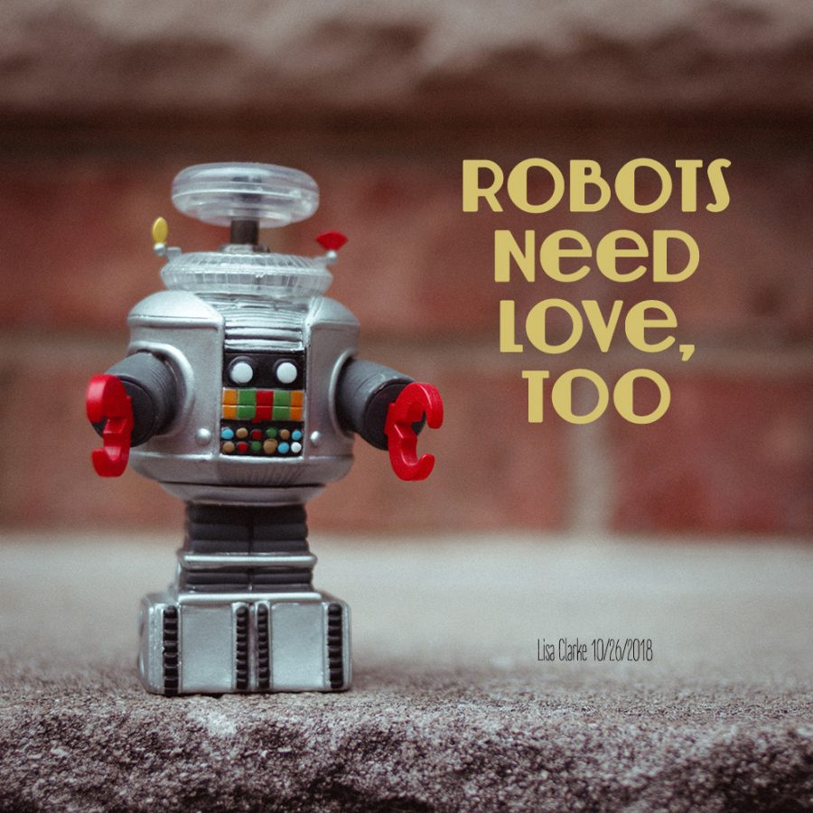 Robots Need Love, Too: a Polka Dot Radio playlist by Lisa Clarke