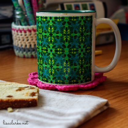 Polymer Clay Mug from Polka Dot Cottage