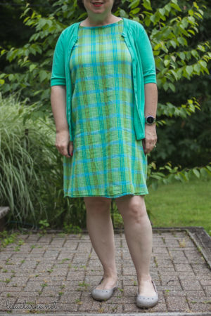 Sewing Summer Sheath Dresses: Modified Dress No. 1