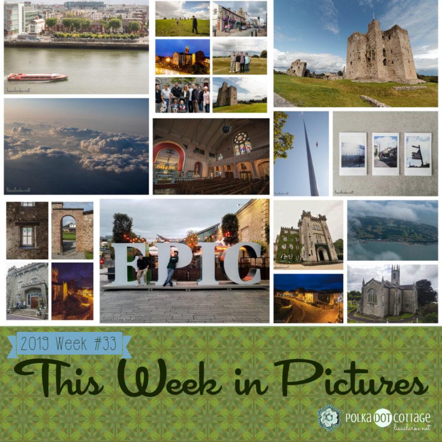 This Week in Pictures, Week 33, 2019