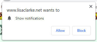 Native Browser Notification Subscribe