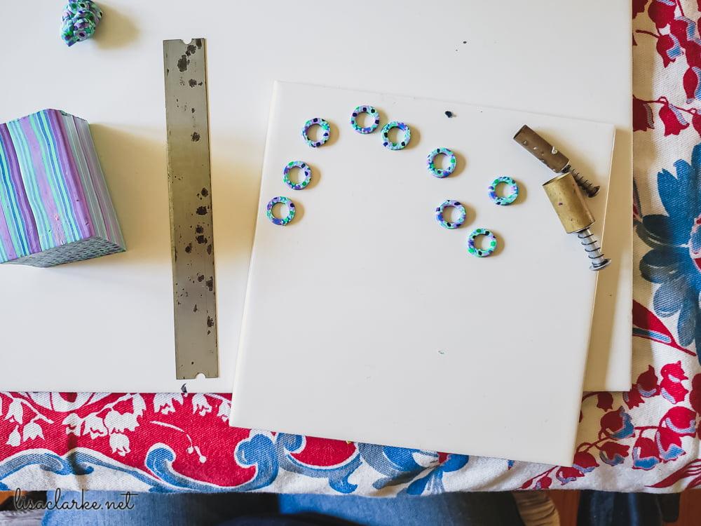 Making stitch markers